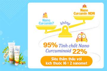 """Nano Curcumin NDN – """"Thủ lĩnh"""" trong chiến dịch trị mụn"""