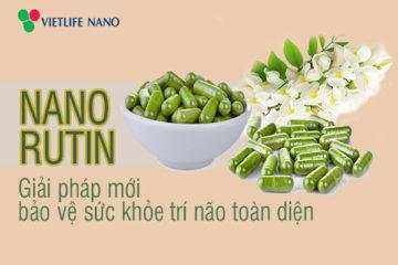 Tiềm năng của Nano Rutin trong điều trị các bệnh lý trí não