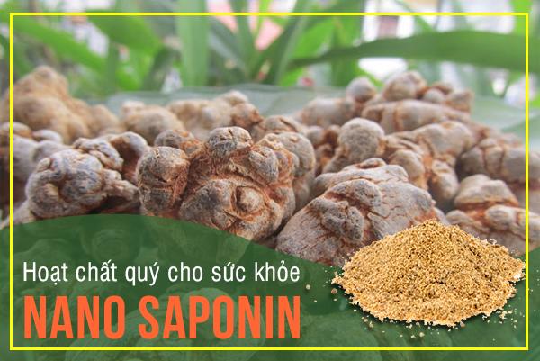 Nano Saponin Tam Thất - hoạt chất quý cho sức khỏe chẳng kém gì Nhân sâm 1